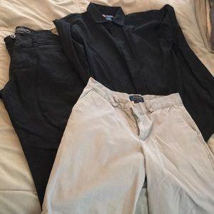 Lot - size 14 boys clothes
